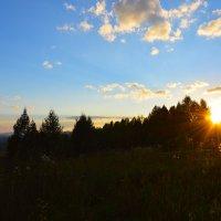 Закат на перевале. :: Валерий Медведев