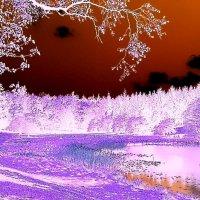 Пейзаж глазами снежного человека :: Валерий Розенталь