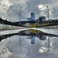 Мост к шахте. :: Николай Е