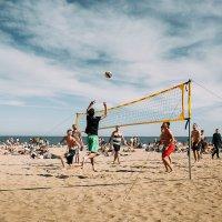 Пляжный волейбол! :: Максим Жидков