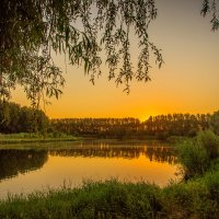 Тишь да гладь, заката благодать! :: Александр Сыроватка