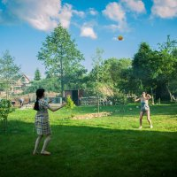дачный волейбол :: evgeniyklimko