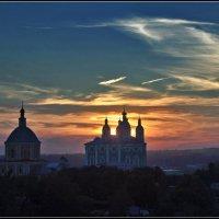 вечер в Смоленске :: Дмитрий Анцыферов