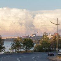 Градирня и облако :: Леонид Никитин