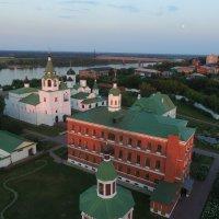 Спасский монастырь вечером :: Николай