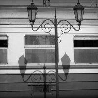Поезд и фонари :: Татьяна Литвинова