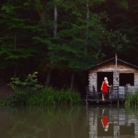 Горное озеро :: Станислав Башарин