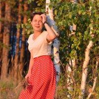 Вечером на солнышке. :: Лариса Красноперова