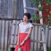 У бабушки в гостях. :: Лариса Красноперова