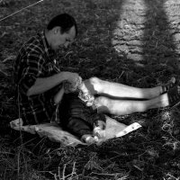 Тяжелые будни папы :: Екатерина Валенчиц