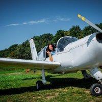 полет на самолете :: Виктория Левина