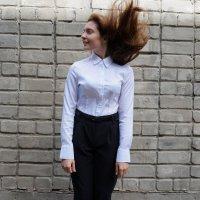 Школьный праздник и ветер :: Оля Сухинина