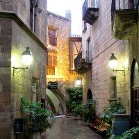 Дождь в Барселоне :: Николай Рогаткин