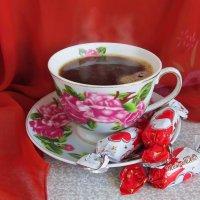 Горячий кофе :: Татьяна Смоляниченко