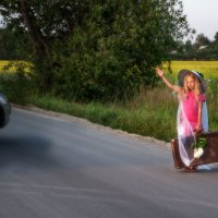 К приключениям... не подвезёте? :: Ирина Данилова