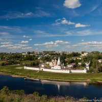 Монастырь на Волге :: Александр Горбунов