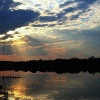 На закате :: Вера Андреева