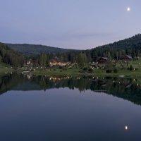 Тихий вечер на Алтае. :: Александр Гурьянов