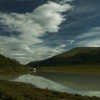 а это - озеро Ак-кем, которое ближе к осени почти исчезает до весны :: Ларико Ильющенко