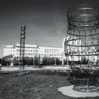 Конструкция чорон и сэргэ.Якутск :: Марина Влади-на