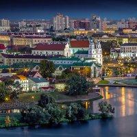 вид из окошка в Минске :: Sergey-Nik-Melnik Fotosfera-Minsk