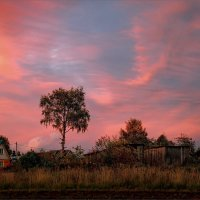 Краски осени после заката... :: Александр Никитинский
