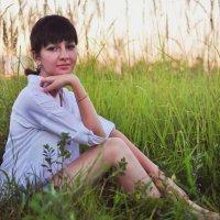 теплый летний вечер :: Алёна Тарханова