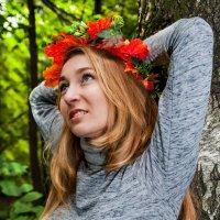 осенний портрет :: Anna Enikeeva