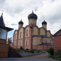 Главный храм монастыря – пятиглавый Успенский собор :: Елена Смолова