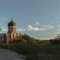 Однопрестольный храм во имя святого мученика Диомида в селе Перво :: Игорь Егоров