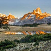 Утро в Патагонии :: vicbelko