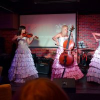 Трио Silenzium в муз-кафе Агарта, Новосибирск. :: gegMapuXyaH