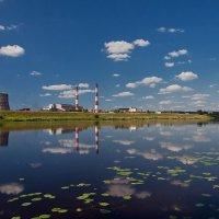 Индустриальный пейзаж :: Александр Горбунов