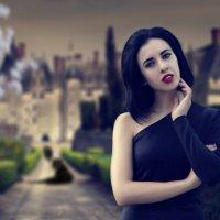 Девушка возле замка :: Alina_ Mash
