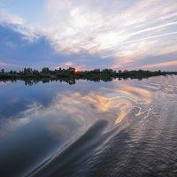 Закат на Белой :: Сергей Тагиров