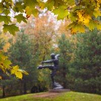 Осень в сквере им. В. Боброва :: Виталий