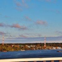 Вид с моста. :: Галина .