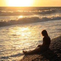 закат на море :: Марат Валеев
