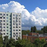 Куда плывут по небу облака? :: Татьяна Смоляниченко