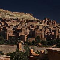 Магрибская ночь. Марокко. Айт - Бен - Хадду :: Андрей Левин