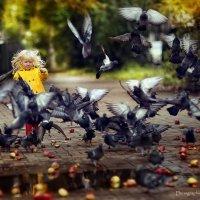 По лужам бегать, голубей гонять. :: Denis Makarenko