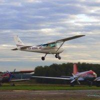 Вечерний полёт Cessna 172. :: Alexey YakovLev
