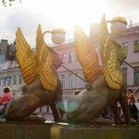 Крылатые львы :: Ирина Шурлапова