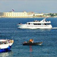 День ВМФ. Яхта командующего Краснознамённым Черноморским флотом :: Кай-8 (Ярослав) Забелин
