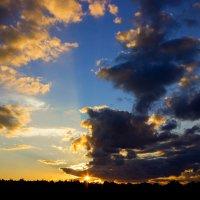 Сентябрь.Закат... :: Михаил Юрин