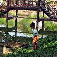 Местный житель Камбоджии :: Лилия Воронежева
