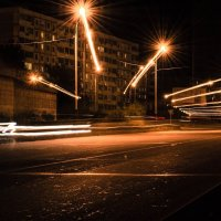 Тишина и спокойствие ночного мегаполиса :: Роман Fox Hound Унжакоff