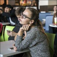В кафе :: Алексей Патлах