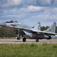 За две секунды до отрыва. МиГ-29СМТ ВКС РФ :: Павел Myth Буканов