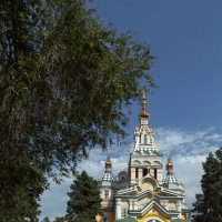 Свято-Вознесенский кафедральный собор в Алма-Ате :: Евгений Мергалиев